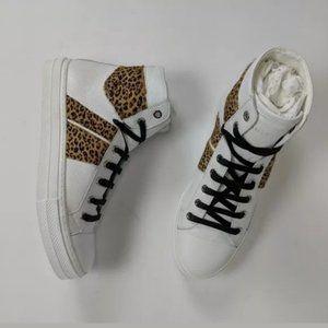 Amiri Sunset Leopard Sneakers